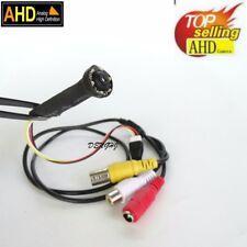 Tiny 1200TVL 2.0MP AHD Camera Video night vision Hidden strip mini Camera+ power