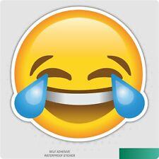 Laughing emoji Pegatinas de Vinilo Coche Furgoneta Camión Taxi Camión Auto-Adhesivo Calcomanía Ipad