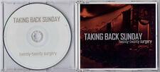 TAKING BACK SUNDAY Twenty-Twenty Surgery 2006 UK 1-track promo CD PR015956