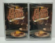 NEW SEALED Set of 2 Time Life Classic Country, Golden '50s Cassettes Part 1 & 2