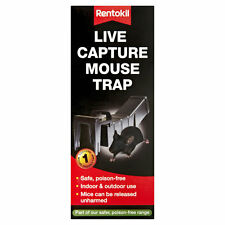 Rentokil Live Capture Poison Free Mouse Friendly Trap - Pack of 1