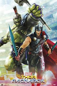 Thor: Ragnarok - Marvel Movie Poster / Print (Gladiators) (Thor 3)