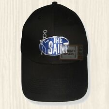 The Saint Black Hat TV Series Roger Moore Simon Templar 007 Cap Embroidered