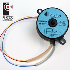 Genuine PRO-JECT Replacement TURNTABLE MOTOR M307 >> VIEW compatibility