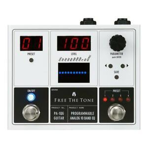 Free The Tone PA-1QG Programmable Analog 10 Band EQ (For Guitar)