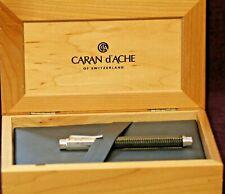CARAN D'ACHE VARIUS CARBON BALLPOINT PEN 3000 W/ 2 REFILLS & ORIGINAL BOX!