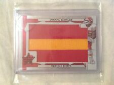 2008 Longevity R & S Rookie JUMBO 2-Color Patch Card JAMAAL CHARLES # 1/5 Chiefs