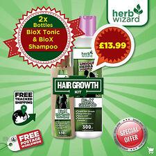 Ginseng FAST Hair GROWTH KIT Tonic Stop Hair Loss Promote Natural Regrowth Serum