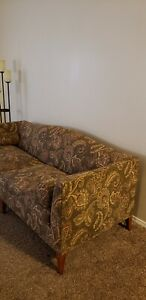 Baker Furniture Archetype Sofa. Needs reupholstery, body and foam in great cond.