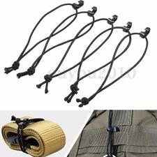 5Pcs Bungee Elastic Buckle Rope Cord  Roll Clamp Cable Clip Backpack