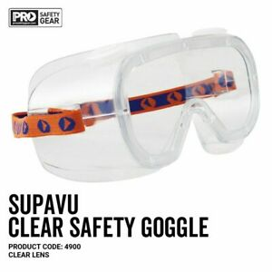 NEW ProChoice® Supa-Vu Goggles Clear Lens 4900 FREE Postage