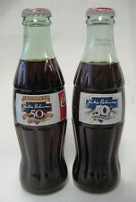 Coca Cola Set of 2 Jackie Robinson Bottles - 50 Year Anniversary 1947-1997