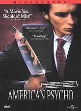 American Psycho (Dvd, 2000, Unrated) Christian Bale