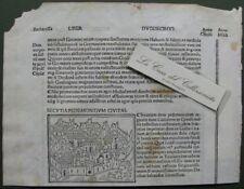 """SUSA. Xilografia da """"Filippo Foresti"""", anno 1503"""