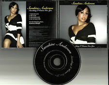 SUNSHINE ANDERSON Something I wanna w/ INSTRUMENTAL & EDIT PROMO CD Give you