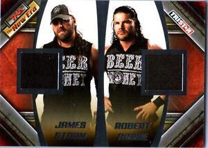 TNA James Storm & Robert Roode 2010 New Era Event Worn Shirt Relic Card 21 /199