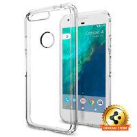 Spigen [Ultra Hybrid] Google Pixel TPU Case Shockproof Transparent Bumper Cover