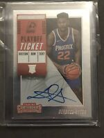 2018-19 Panini Contenders Playoff Ticket Deandre Ayton Suns RC Auto #40/65