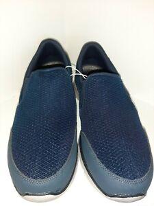 Skechers SN 52937S Blue Slip On Dual Lite Relaxed Fit Men's Sz 13