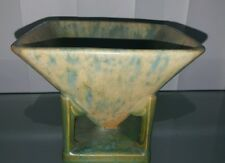 EARLY ROSEVILLE CIRCA 1916 FUTURA SAND TOY BOWL SCULPTURAL CERAMIC POTTERY