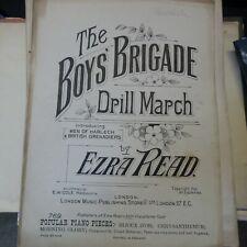 More details for piano solo ezra read the boys' brigade - drill march