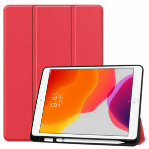 """iPad Air 3rd Gen Case 10.5"""" Magnetic Smart Cover Stand Pencil Holder for Apple"""