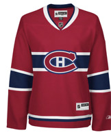 Montreal Canadiens Reebok Home Premier Officially Licensed NHL Jersey women S