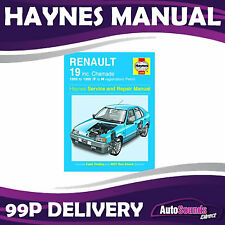 Renault 19 1.2 1.4 1.7 1.8 Petrol 89-98 (F to N Reg) Haynes Manual