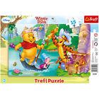 TREFL puzzle 15 pièces DISNEY Winnie Tigrou Porcinet - 3+ NEUF