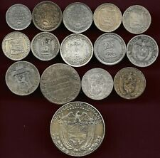 World lot of 15 silver coins