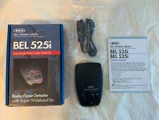New listing Bel Super Wideband Radar Detector with Laser 525i