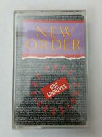 NEW ORDER The Peel Sessions BBC Archives 0014 STEMRA Cassette Tape