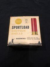 Vintage Ammo Box: Sears Sportland Shotgun Shells 12 Gauge