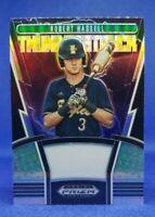 2020 Panini Draft Picks Baseball #TH-4 Robert Hassell Thunderstruck Silver Prizm
