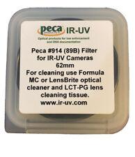 Peca IR-UV 62mm #914 (89B) Filter for IR-UV Cameras