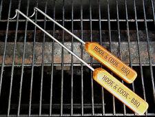 Handmade HOOK & COOK BBQ Grill & Kitchen Cooking Tool Set - Pigtail Flipper