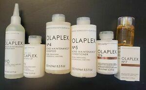 Olaplex No.0 No.3 No.4 No.5 No.6 N.o7 Full SET, Authentic Sealed !!