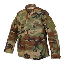 Woodland Camo ACU Tactical Response Uniform Men's Shirt by TRU SPEC 1274
