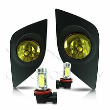 14-15 Toyota Corolla Fog Lights w/Wiring Kit & High Power COB LED Bulbs - Yellow