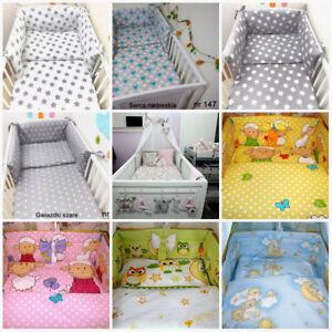 SALE 3 Pcs Baby Nursery Bedding Set fit Cot 120x6 or 140x70 BUMPER SALE