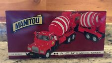 OFFICIAL 1:34TH SCALE REPLICA FIRST GEAR MANITOU CONST. CO. 1998 MACK R-MODEL