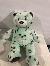 "Build A Bear Workshop 17"" Mint Chocolate Chip Icecream Teddy Bear Stuffed Plush"
