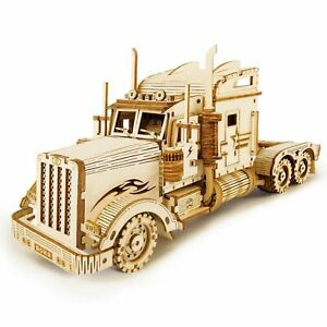 Hands Craft 3D Puzzle Truck Model 1:40 Scale Heavy Truck, Stem Puzzles