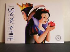 Snow White and The Seven Dwarfs Lithograph Set of 4 - Disney Store - 2016