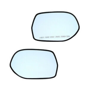 Side Mirror Heat Rays Glass 2p 1set for 2006 2011 Chevy Epica Tosca
