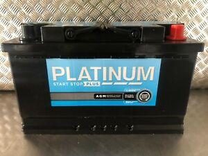 Platinum Prestige 115 AGM Battery 80Ah 800A(EN) 6month old Superb Battery