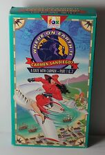 Where on Earth is Carmen Sandiego A Date with Carmen Part 1 2 Fox Kids Video VHS