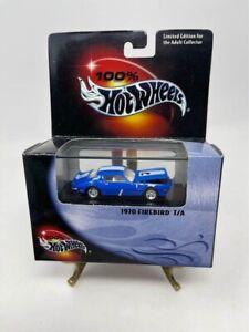 100% Hot Wheels 1970 Firebird T/A Blue And White