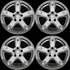 "4 CHROME 07-11 Dodge Nitro 17"" Wheel Skins Hub Caps Full Covers fit Aluminum Rim"