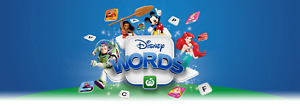 Woolworths Disney Words Tiles ALL characters